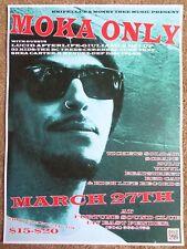 Moka Only 2014 Gig Poster Vancouver Canada Concert British Columbia