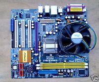 Scheda Madre Socket 775_ASROCK  775i945GZ + CPU INTEL DUAL CORE E2140 /1.60 GHZ