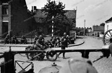 Bei Löwen-leuven belgien-Flandern-Artillerie-Regiment 60-motorrad-P.O.W.-35