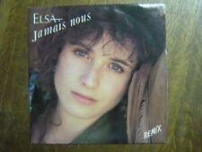 ELSA LAURENT VOULZY 45 TOURS FRANCE JAMAIS NOUS