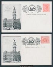 Victoria Pair Official Postcards 1908 US Fleet Visit