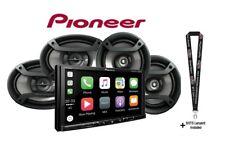 """Pioneer MVH-2300NEX 7"""" Digital Media Video Receiver w/ 6.5"""" & 6x9"""" Car Speakers"""