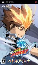 Used PSP  Katekyoo Hitman Reborn ! Battle Arena  SONY PLAYSTATION JAPAN IMPORT