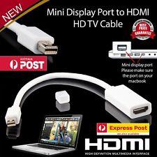 Mini Display Port to HDMI Cable Mini DP Male to HDMI Female Video Converter Cord