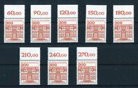1 x Bund 1143 OR Burgen und Schlösser postfrisch 3 DM mit Oberrand BuS BRD 1982
