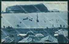 Napoli Bagnoli Nisida ABRASA cartolina VK0115