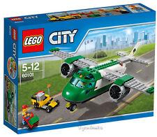 LEGO CITY - AEROPUERTO: AVIÓN DE MERCANCÍAS SET 60101 - NUEVO SIN ABRIR