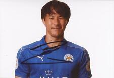 Leicester: Shinji di Okazaki firmato 6x4 2016/2017 foto ritratto + COA
