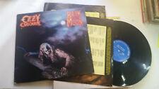 Ozzy Osbourne bark at the moon original vinyl black sabbath LP '83 rare metal !!