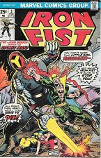 Iron Fist Comic Book #3, Marvel Comics 1976 Very Fine+