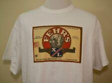 Fehr's Beer t-shirt white Xl Louisville Kentucky brewing brewery alcohol