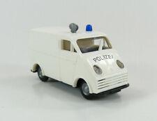 DKW F 89 L Auto Union Polizei weiss Praline 1:87 H0 ohne OVP [HB11-A8]