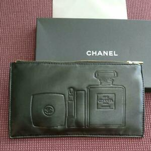 CHANEL SKINCARE  Novelty black With clutch Pouch Box  Limited Japan