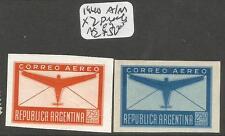 Argentina 1940 A/M X2 Proofs MOG (8cud)