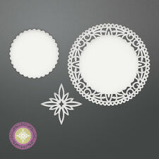 Couture Creations- Be Merry Collection- North Star Doily Set Dies
