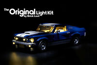 LED Lighting kit fits LEGO ® Ford Mustang 10265