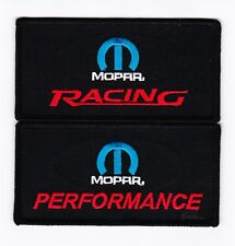 MOPAR RACING PERFORMANCE SEW/IRON ON PATCH EMBROIDERED DODGE CHRYSLER PLYMOUTH