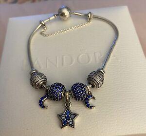 Pandora Essence Me 20cm Silver Bracelet With Charms