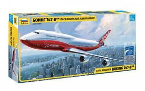 Zvezda 7010 1/144 Boeing 747-8 Plastic Model Kit
