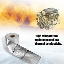 5M Car Silver Foil High Temp Heat Reflective Adhesive Tape Roll/Heat Shield Tape