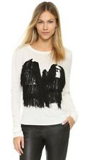 Opening Ceremony Small Komondor Fringe Embroidered Shaggy Fringe Dog Sweater