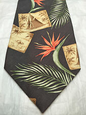 TOMMY BAHAMA MENS TIE PALM TREES 59 X 4