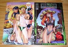 Wildstorm Swimsuit #1-2 VF/NM complete series - jim lee - j. scott campbell set