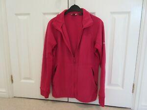 Ladies Berghaus bright pink fleece jacket size 16