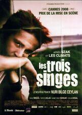 affiche du film TROIS SINGES (LES) 120x160 cm
