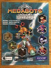 Medabots: Infinity Nintendo Gamecube GCN 2003 Poster Ad Advertisement Print Art
