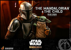 Hot Toys Star Wars The Mandalorian & The Child Deluxe