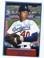 Autographed Photo of Dodgers George Culver