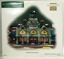 """Brand New Dept 56 Christmas In The City """"East Harbor Ferry Terminal"""""""
