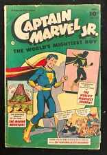 CAPTAIN MARVEL JR.#113 GD/VG  WORLD'S MIGHTIEST BOY 1952  MOVING MOUNTAIN MORE!