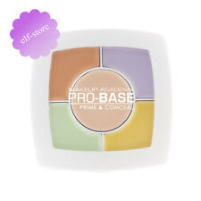 MUA Pro-Base Prime&Conceal palette yellow,green, under eye, neutralise concealer