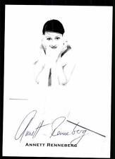 Annett Renneberg Autogrammkarte Original Signiert # BC 49855