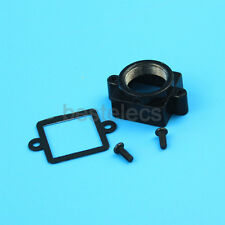 M12x0.5 Metal Mount with Gasket for Camera Lens Black 15*15mm