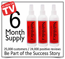 GROW FULL THICK HAIR NUTRIFOLICA 3 TREATMENT LOSS REGROWTH RECEDING HAIRLINE