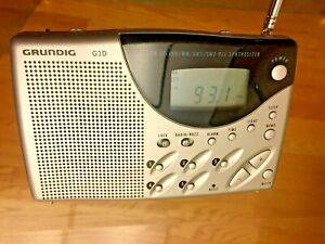 Grundig G3D TR II Digital World Receiver AM FM Short Medium Long Wave Tested