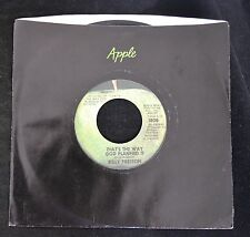 Billy Preston Apple 1808 That's The Way God Planned It and What About You