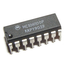 MC10H100P Quad 2-Input NOR Gate With Strobe DIP16 MOTOROLA