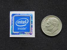 NEW! Square Intel inside Sticker Label Case Badge Logo. USA Seller!