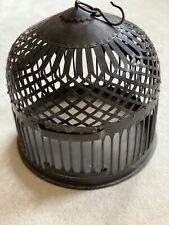 Vintage Rare Metal Bird Cage Made in India