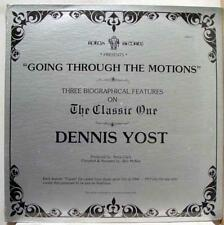 Dennis Yost - Going Through The Motions LP New Sealed RBX P1 Vinyl 1981 Record