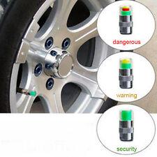 Hot Car Auto Tire Pressure Monitor Valve Stem Cap Indicator Alert Set 4PCS
