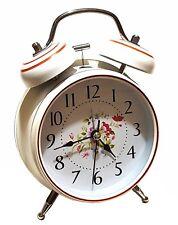 Haut nostalgique rétro cloche lumière Réveil Montre Réveil-matin mécanique