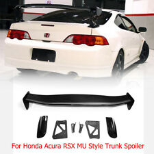 MU Style Carbon Rear Trunk Spoiler Wing - For 02-06 Honda Integra DC5 Acura RSX