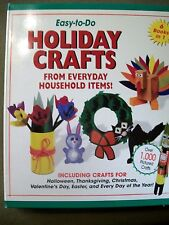 Easy-To-Do Holiday Crafts from Everyday Household Items! 6 BOOKS IN 1