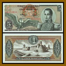 Colombia 5 Pesos Oro, 1973 P-406e Unc