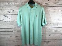 Polo Ralph Lauren Mens Green Classic Fit Short Sleeve Shirt Size XXL 2XL NWT